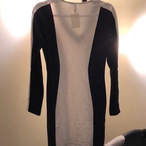 H&M Dresses - Black and white dress